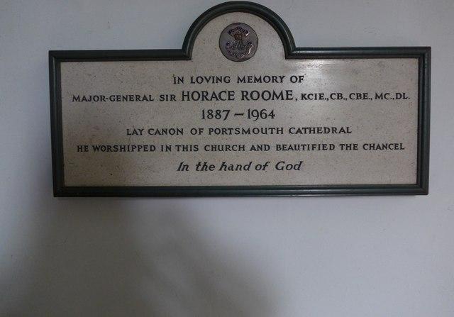 Christ Church, Totland: memorial (k)
