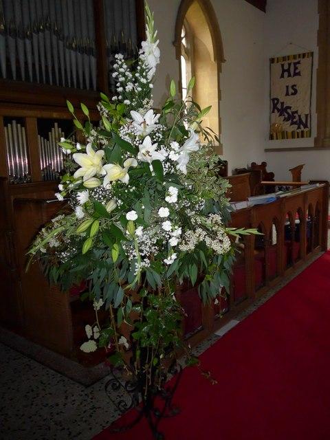 Inside Christ Church, Totland (ii)