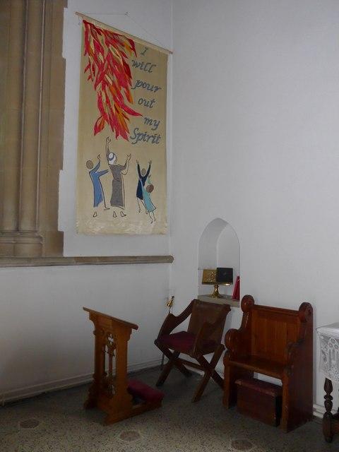 Inside Christ Church, Totland (v)