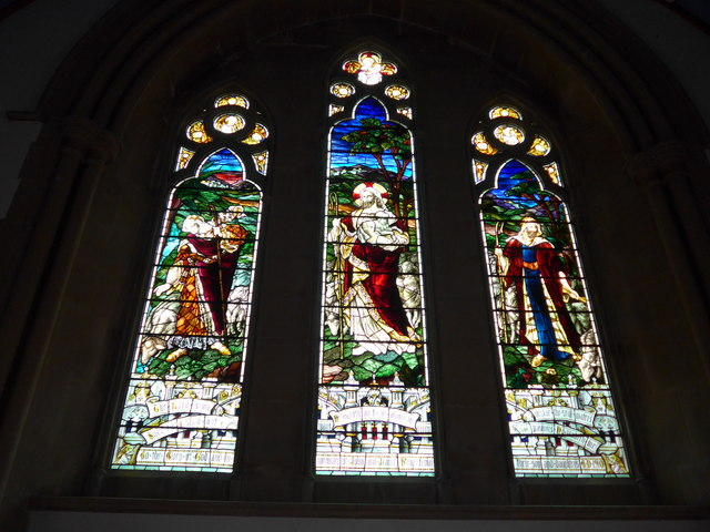 Christ Church, Totland: stained glass window (I)