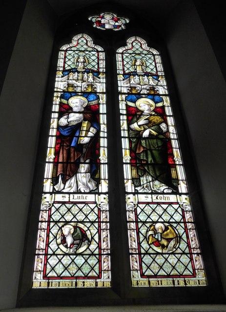 Christ Church, Totland: stained glass window (III)