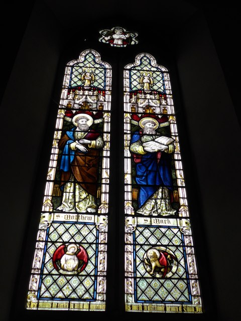 Christ Church, Totland: stained glass window (IV)