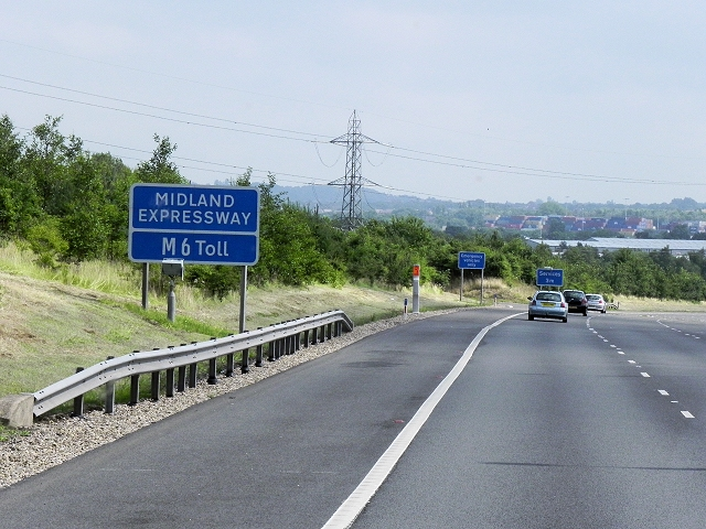 The Midland Expressway - M6 Toll