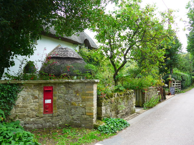 Postbox in Rectory Lane