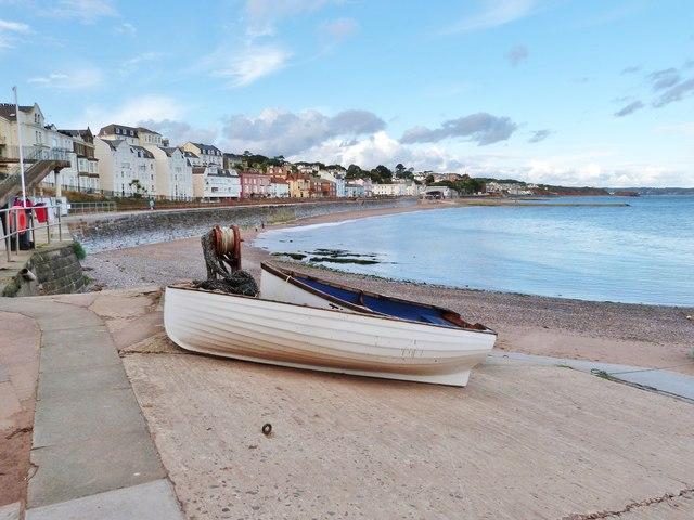 The sea front at Dawlish, Devon