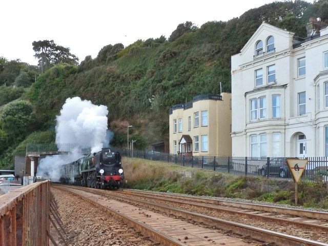A touch of deja-vu at Dawlish