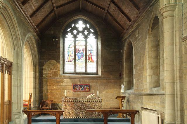 St Stephen, Bush Hill Park - South chapel