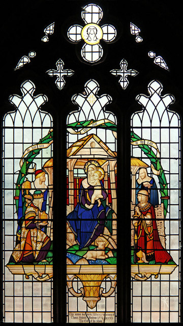 St Stephen, Bush Hill Park - Stained glass window