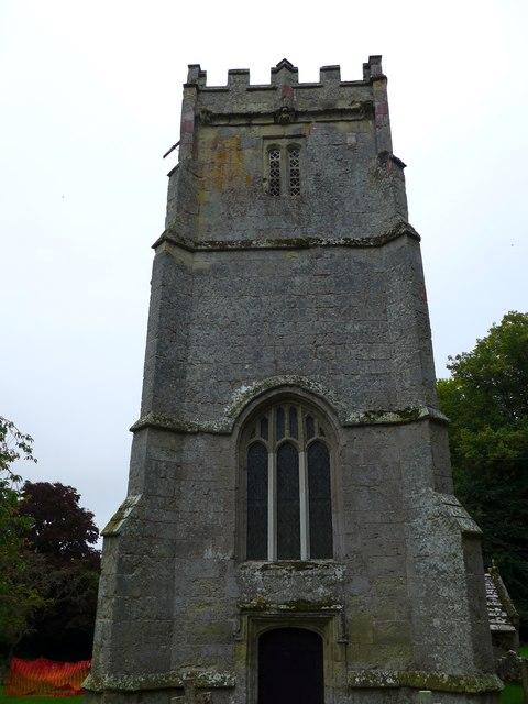St Olave, Gatcombe: tower