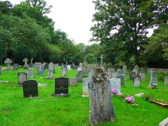 St Olave, Gatcombe: churchyard (1)