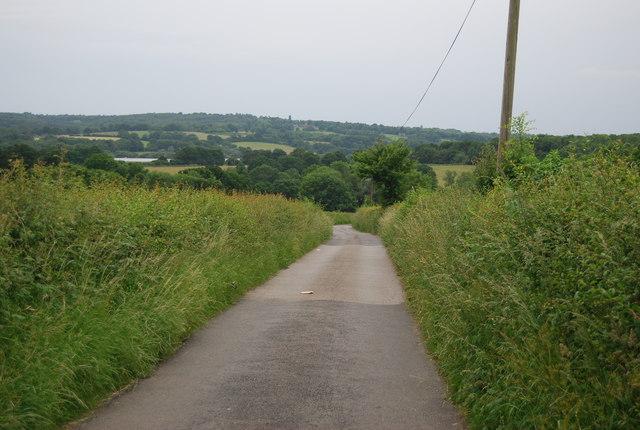 Track to Horseshoe Farm