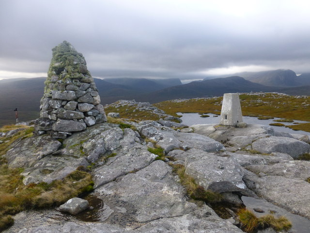Benisval Cairn and Trig Point