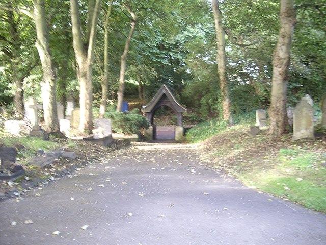 Lych Gate, St Cuthbert's Church