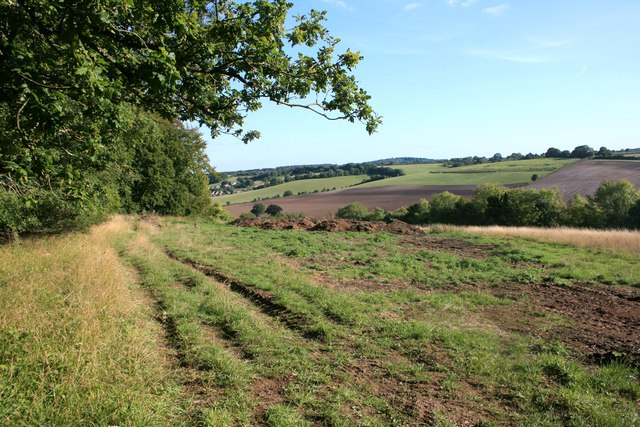 View from Old Dashwood Hill