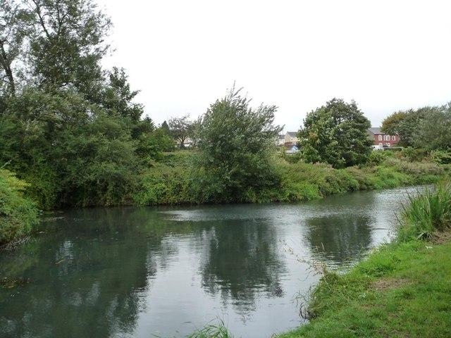 Winding hole, Mon & Brec canal, Sebastopol