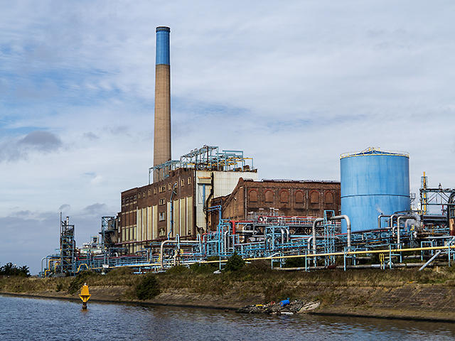 Weston Point Power Station