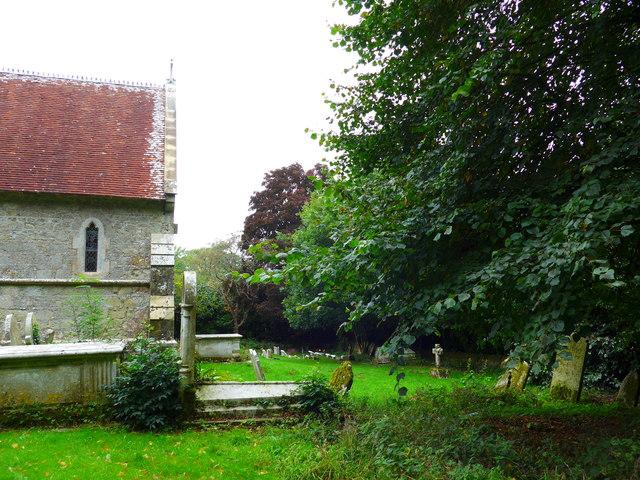 St Olave, Gatcombe: churchyard (7)