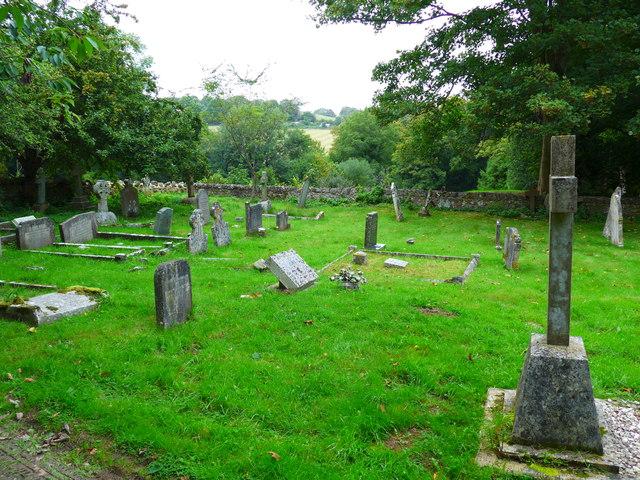 St Olave, Gatcombe: churchyard (8)