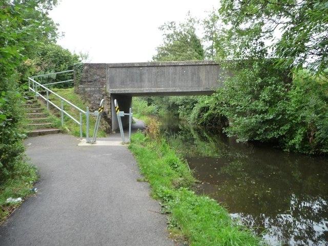 Pontrhydyrun Bridge [no 46] from the north