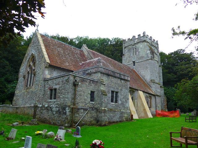 St Olave, Gatcombe: churchyard (14)