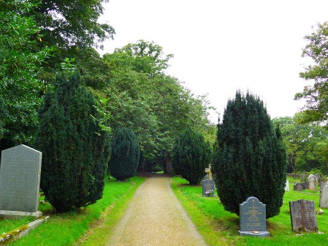 St Olave, Gatcombe: churchyard (15)