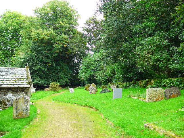 St Olave, Gatcombe: churchyard (17)