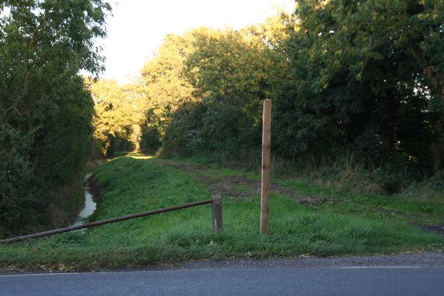 Green Lane opposite Brind Lane