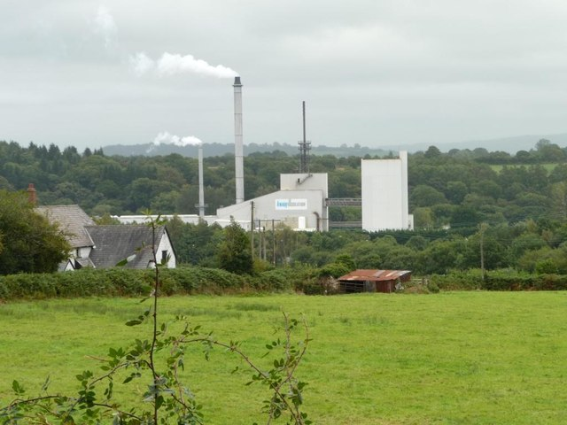 Knauf Insulation's glass mineral wool plant, Cwmbran