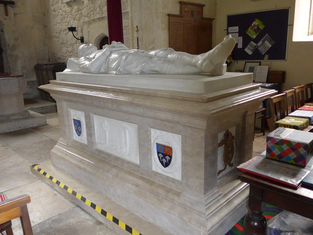 St Olave, Gatcombe: tomb memorial