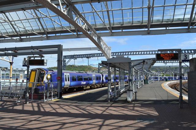 Gourock Railway Station Platforms, Pierhead, Gourock, Inverclyde