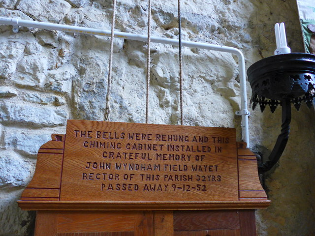 St Olave, Gatcombe:  memorial (II)