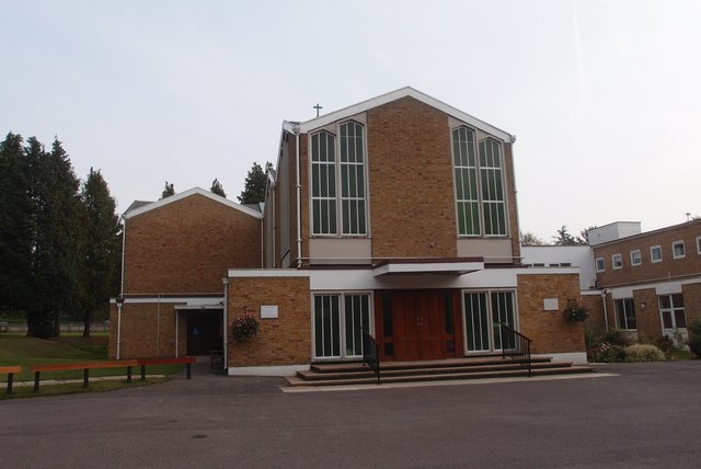 The Sacred Heart Roman Catholic Church, Sunningdale