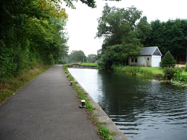 Present limit of navigation, Mon & Brec canal