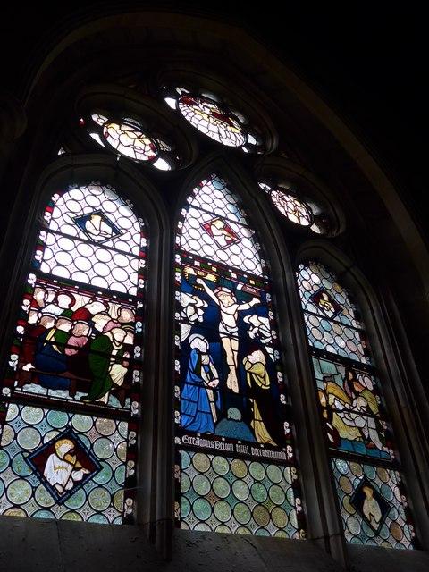 St Olave, Gatcombe: stained glass window (iii)