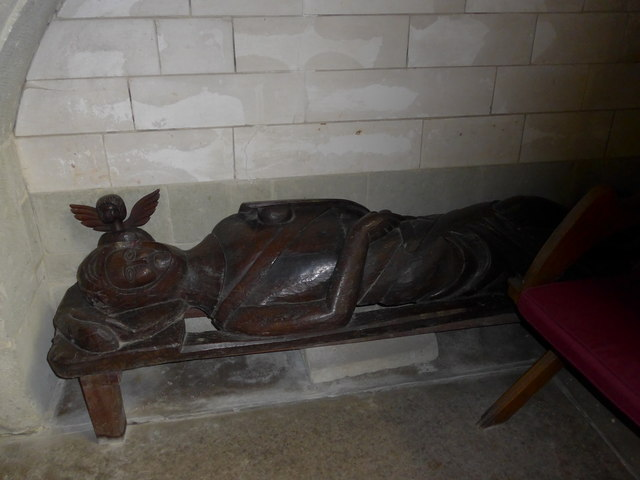 St Olave, Gatcombe: wooden carving