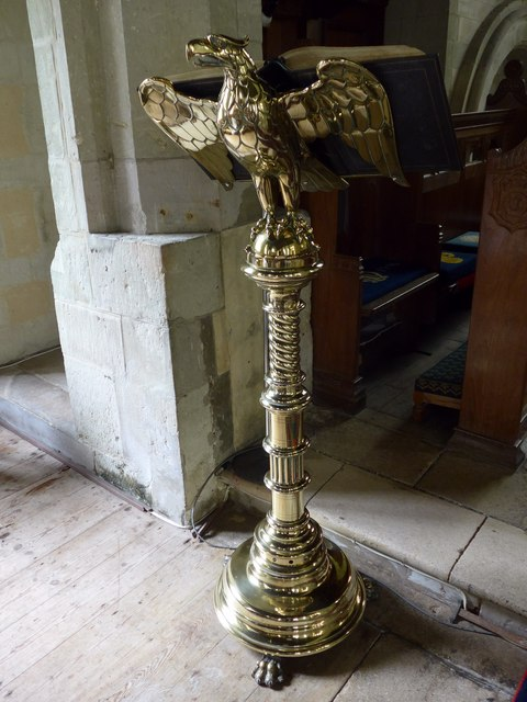 St Olave, Gatcombe: lectern