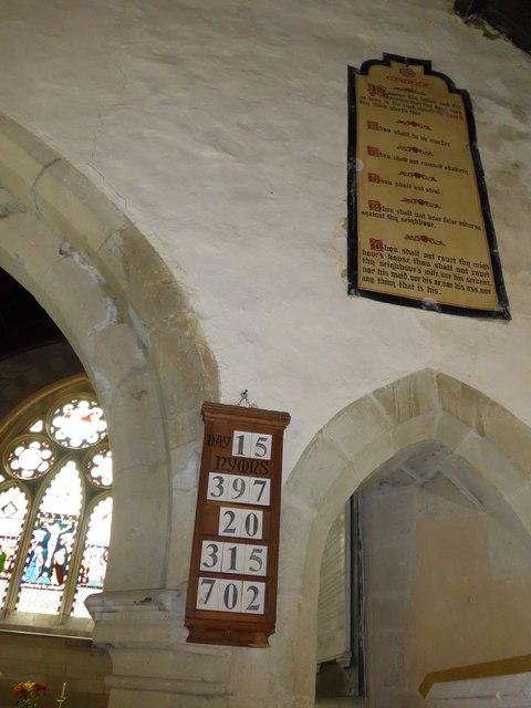 Inside St Olave, Gatcombe (E)