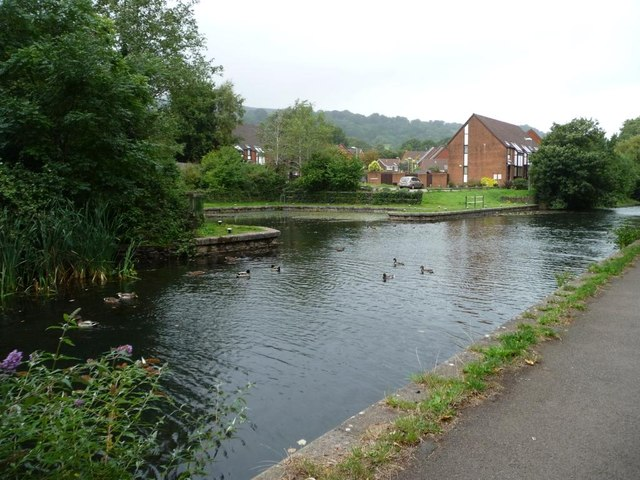 Five Locks Basin, Mon & Brec canal