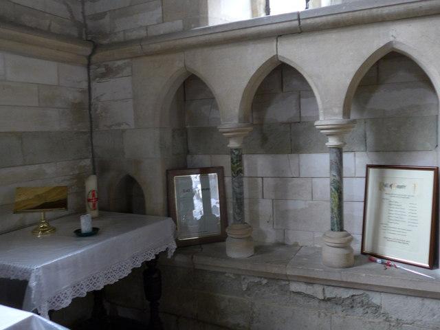 Inside St Olave, Gatcombe (H)
