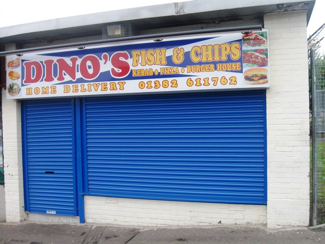 Dino's fish and chips