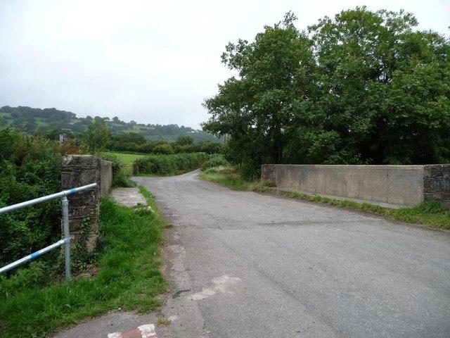 Pontrhydyrun Bridge [no 46] from the east