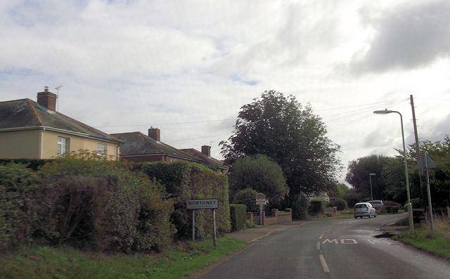 Northney Road entering Northney