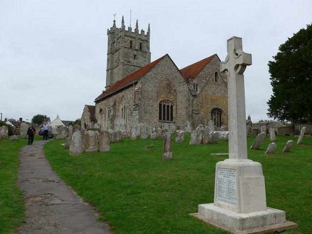 St Mary, Carisbrooke: churchyard (e)
