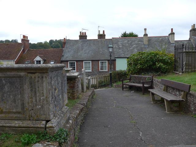 St Mary, Carisbrooke: churchyard (k)