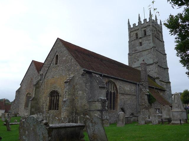 St Mary, Carisbrooke: churchyard (m)