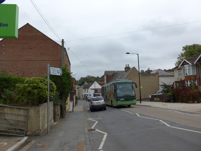 Bus in the High Street