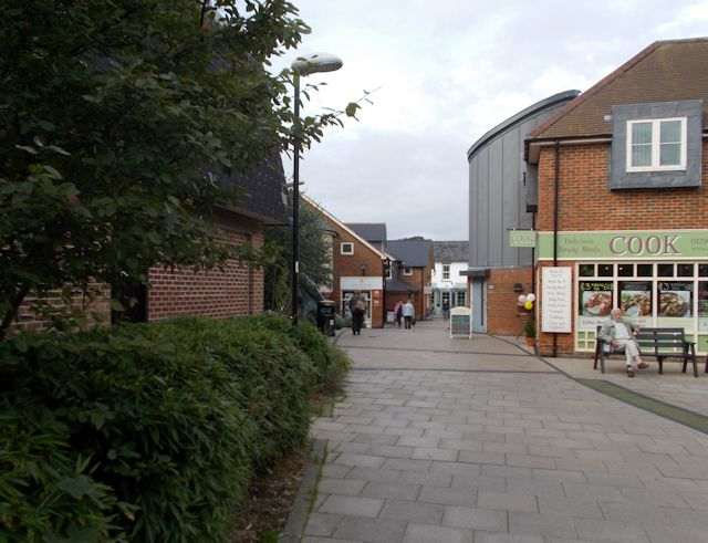 Walkway from Waitrose to Latimer Street
