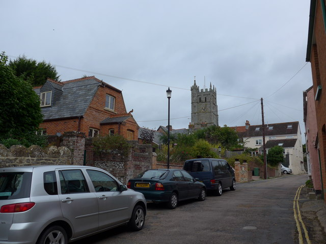 Looking from Castle Street towards the parish church