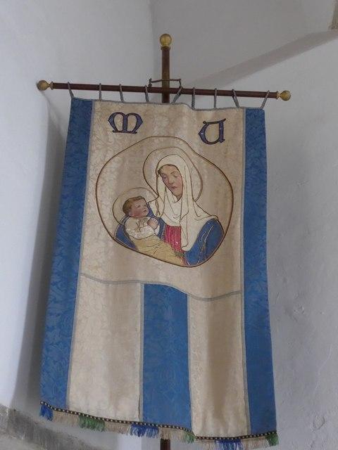 St Mary, Carisbrooke: banner (i)