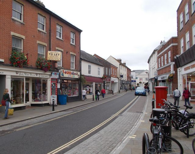 The Hundred Romsey from Latimer Street